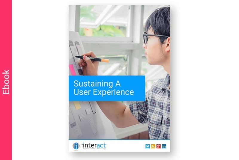 Sustaining a User Experience